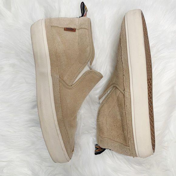 VANS Shoes   Fleece Lined High Top
